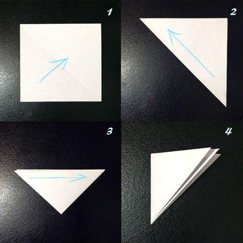 Умелые ручки снежинки из бумаги