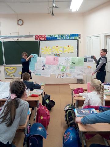 Неделя русского языка и литературного чтения в начальной школе
