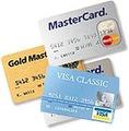 Оплата с помощью пластиковых карт
