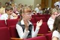 Выпускной бал у учащихся 4 классов.