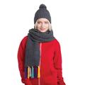 Вязаные шапки и шарфы в наборах