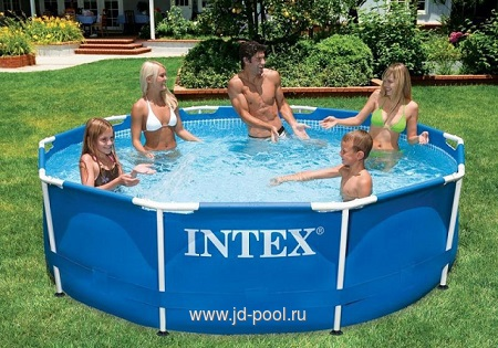 Бассейн INTEX Metal Frame 3,66х0,76м