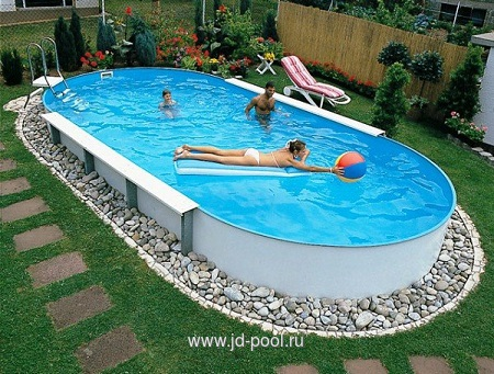Бассейны Summer Fun Watermann (Германия) овал