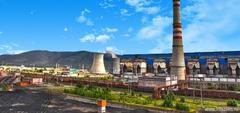 Запуск турбины на Улан-Баторской ТЭЦ-4