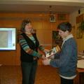 Награждение победителя конкурса проектов Шмыкова Ивана