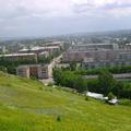 Центр города. Вид с горы Поклонной