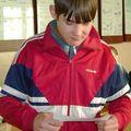 По итогам активной работы на уроке-зачете двое ребят получили сертификаты на освобождение от сдачи экзамена. Среди них - Коллекционов Алексей