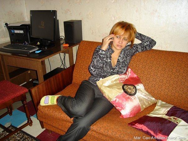 Русская мамашка и её друг