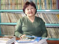 Бадыргы Галина Салчаковна, библиотекарь