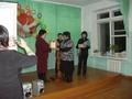 Вручение диплома Победителя конкурса «Учитель года—2010»  Кара-Сал Оксане Дадар-ооловне, учителю  математики