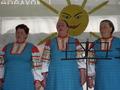 На празднике наша фольклорная группа