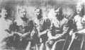 Командование 2-й повстанческой армией. Слева - Бошкарёв, Митрофанович, Антонов, Токмаков, Силянский