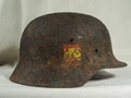Каска 250-й пехотной дивизии вермахта. Каждому своё!
