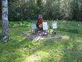 Воинское захоронение «Заречье» на хуторском кладбище
