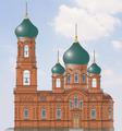 Примерно похожий проект церкви
