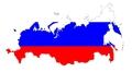Карта России на Апрель 2014 года