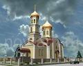 Вариант нашей новой церкви с двумя приделами