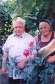 Шипилов Я.П. с супругой Эммой Иосифовной. Ему 80 лет. 31.08.2005
