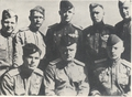 Герои Ленинградского неба (комэск Манохин А.Н. внизу в центре)