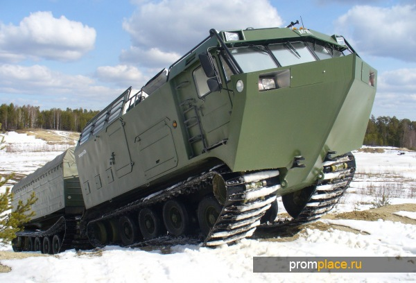 Вездеход ДТ-30ПМ Витязь (модель 2015 г.в.)