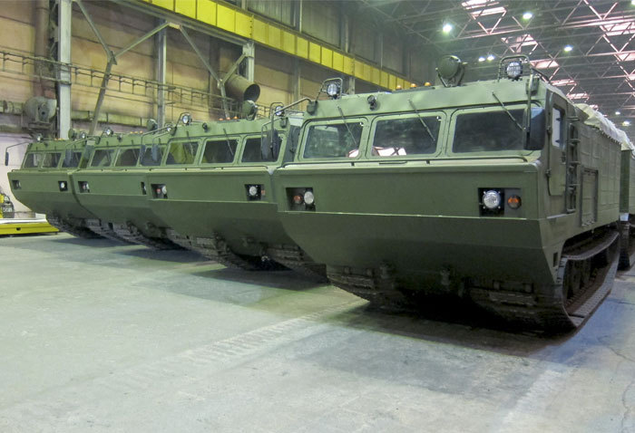 Вездеход ДТ-30П Витязь (модель 2014 г.в.)