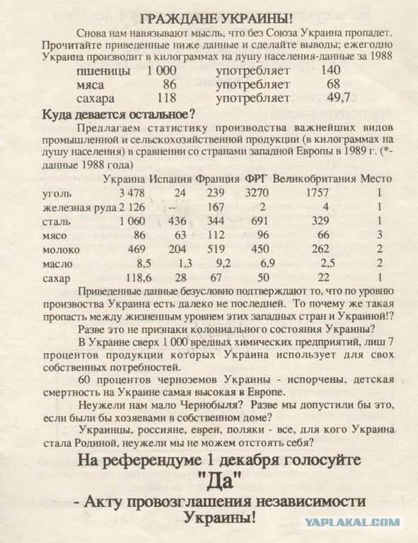 Референдум 1991 года - о выходе из СССР