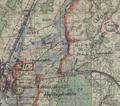 12 - Карта боевых действий 305-й стр. дивизии первого формирования, 1941 год