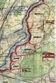 Рабочая карта командира 305 сд - 1941 год