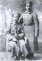 Бирёвы Дмитрий Вас. (стоит) и Михаил Васильевич