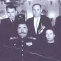 Герой СССР Попов А.А. с С.М.Будённым в Кремле