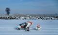 Орион М-24 - лыжи на колёсах