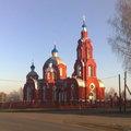 Старосеславинская церковь меньше, чем была в Хоботцах