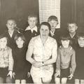 Виданова Евдокия Семёновна с классом