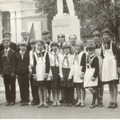 19 мая - правофланговый отряд школы в районе