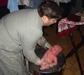 Крещение сына нашего земляка