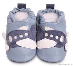 """Обувь для новорожденных """"Shooshoos"""" (код 513)"""
