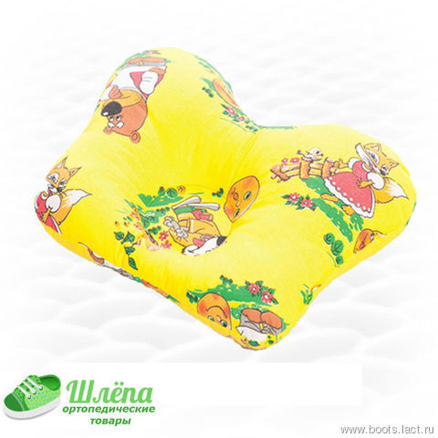 Подушка для новорожденных бабочка