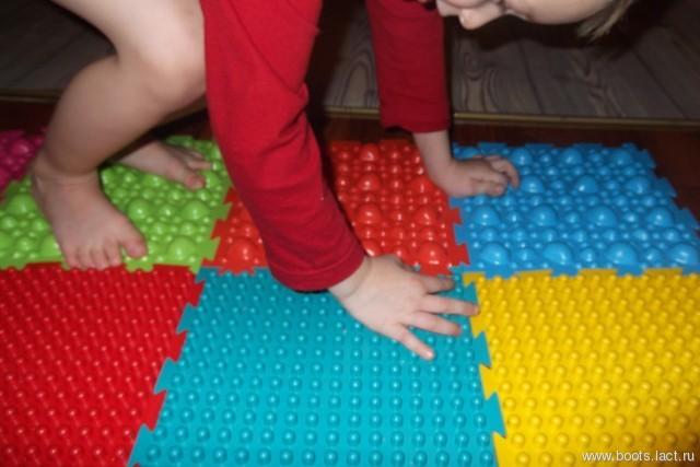 Ортопедический коврик для ребенка своими руками