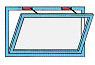 APRICOLOR VARIA T цепной привод для фрамуг с возможностью работы в тандеме с аналогичным приводом.