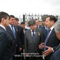 Визит делегаций из ЧР и РИ .Открытие музея Карлаг (Долинка)