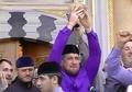 Чашка пророка Мухаммада (мир ему) доставлена в Чеченскую Республику (видео)