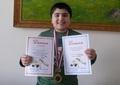 Золотая медаль Бекмурзиева Багаудина