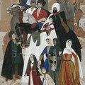 Работы чеченского художника Рустама Яхиханова