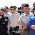 В поселке Малая Сарань открыт памятный знак А.-Х. Кадырову (фото)