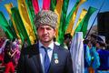 Увайс Джанаев награждён медалью «Бірлік» от имени президента