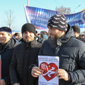 Акция в Грозном против карикатур на пророка собрала более миллиона участников (фото)