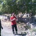 Субботник на кладбище мелькомбината