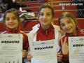 Чеченские гимнастки на первенстве Восточной Бельгии