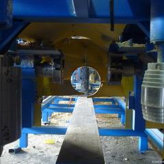 Оцилиндровочный станок Каскад, оцилиндровка в один проход, станки для оцилиндровки, станки для производства срубов, Ижевск, Камский Берег, деревообрабатывающие станки, цены, видео
