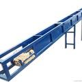 Скребковые (цепные) конвейеры используются для транспортировки муки, зерна, опилок,